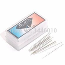 2016 Hot Sales Newest 1000pcs Loose Needles With A Plastic Box - Short Standard Taper 0.40MM For Tattoo Machine Free Shipping(China (Mainland))