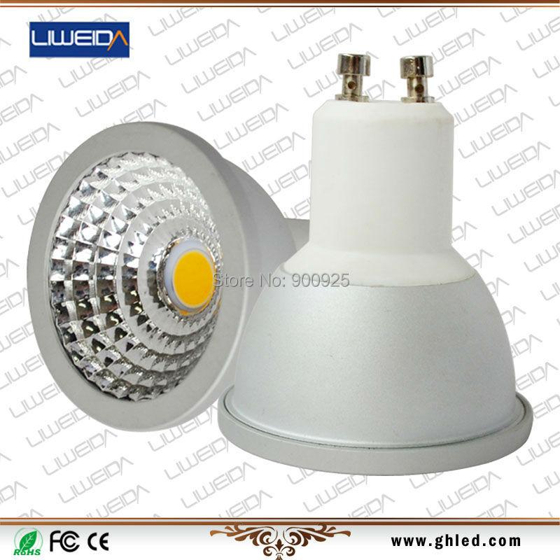 : 5W GU10 Base 100% 2 year warranty 3000K/4000K/6000K 85-277VAC CRI82 led spotlight lamp - Shenzhen Liweida optoelectronics Co.,Ltd store