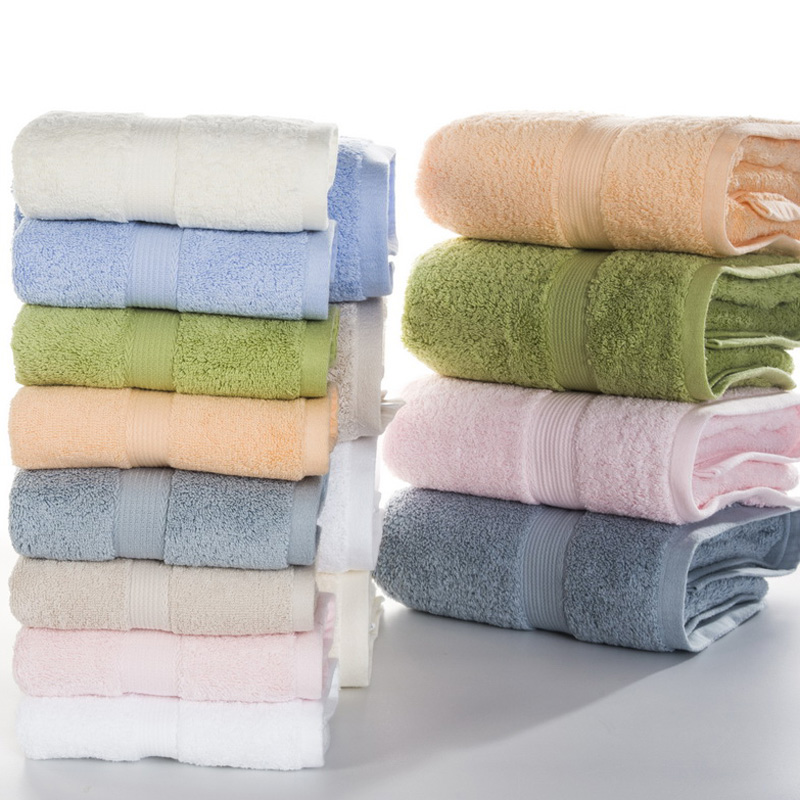 100% Egyptian cotton towel set 2pcs face towel 1pc bath towels for adults/beach towel white/blue/green/beige/pink MJ-1120YJ-5038(China (Mainland))