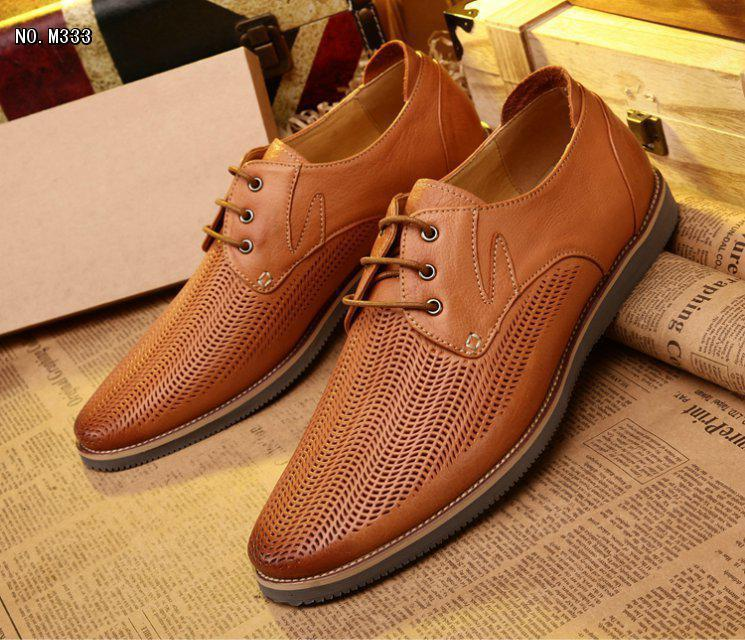 New Men Shoes Lace-Up Men shoes Soft Full Grain Leather Embossed Leather Business Shoes Solid Blue/Brown Dress Wedding shoes(China (Mainland))