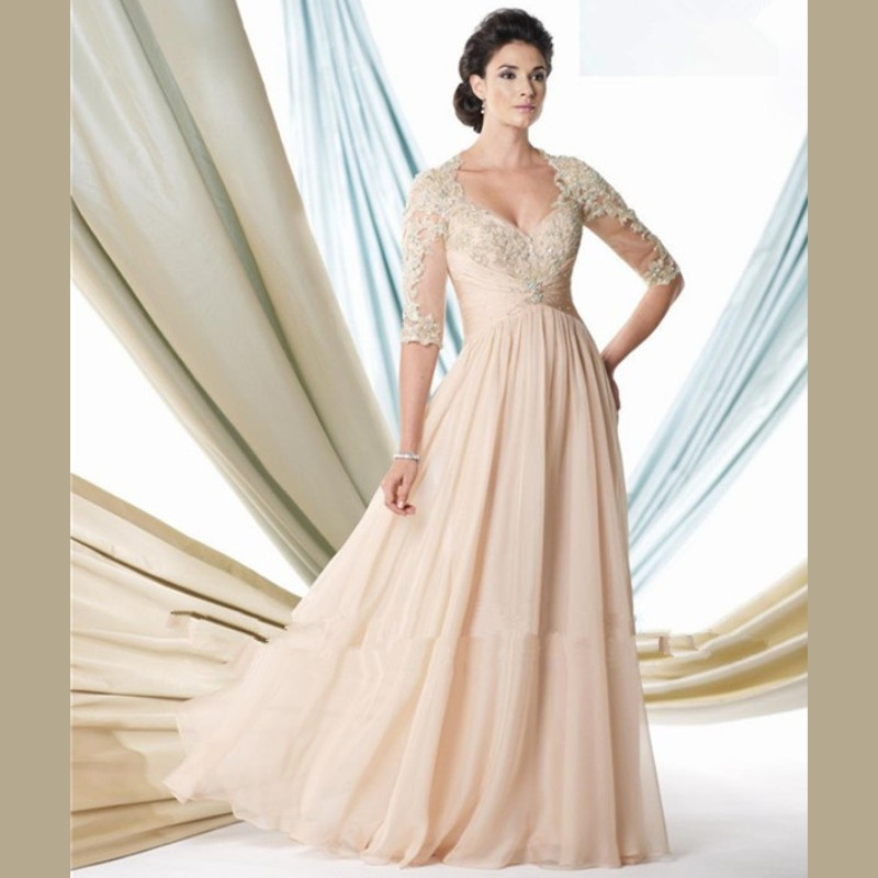Plus Size Chiffon Mother of the Bride Dresses