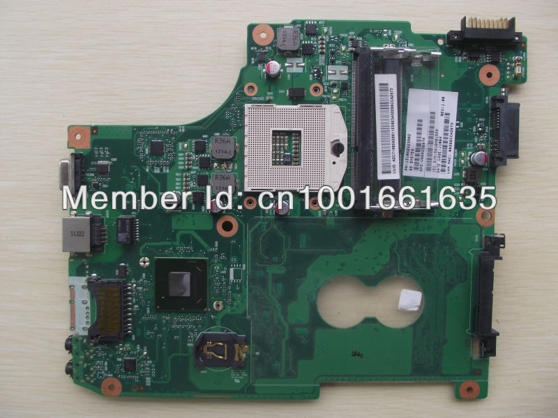 Wholesale V000238070 Laptop motherboard for Toshiba Satellite C600.100% tested and guaranteed in good working condition!(China (Mainland))