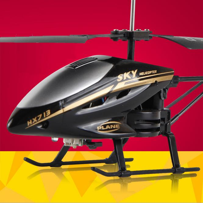 2015 Hot Sales 2.5CH RC Helicopter Remote Control Helicopter Radio Control Metal HX713 RC Helicopters With Light Helicoptero(China (Mainland))