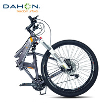 "26"" 27 speed High Quality Folding Mountain Bike for Men & Women, City Sport Bicycle, Aluminum Alloy Frame MTB, Oil Disc Brakes(China (Mainland))"