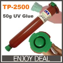 New TP-2500 LOCA UV glue liquid optical clear adhesive tp 2500 uv glue tp2500 for touch screen samsung galaxy iPhone(China (Mainland))