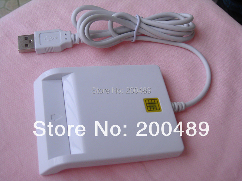 SCR-N99 USB Smart Card Reader PC/SC USB-CCID EMV ISO7816 the chip support EMV2000 Level 1 Certification(China (Mainland))