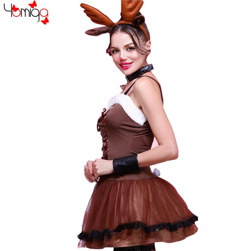 Girl Reindeer Costume Girls Christmas Costume