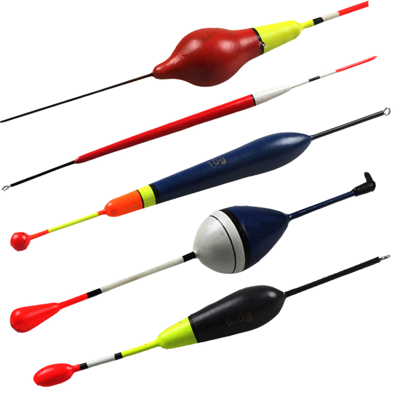 Wood fishing float kit buoyage marine fish floats bobber for Fishing bobbers bulk