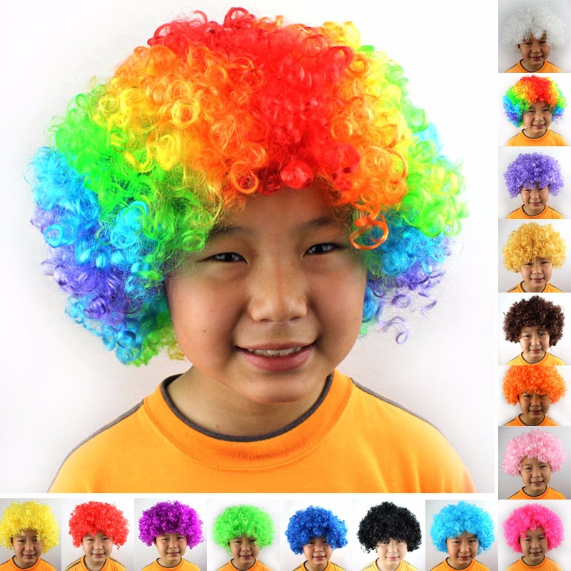 Afro Clown Wig  (28)
