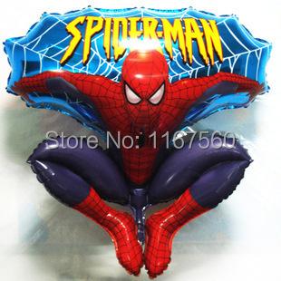 Бесплатная доставка большой размер водорода типа прыжок паук гелий фольгированные шары для рождения детей ну вечеринку свадебные украшения игрушки