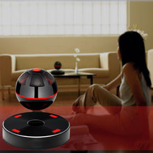 Portable NFC Magnetic Levitation Floating 3D Stereo Bluetooth Speaker 4.1 for iPhone/Samsung Black(China (Mainland))