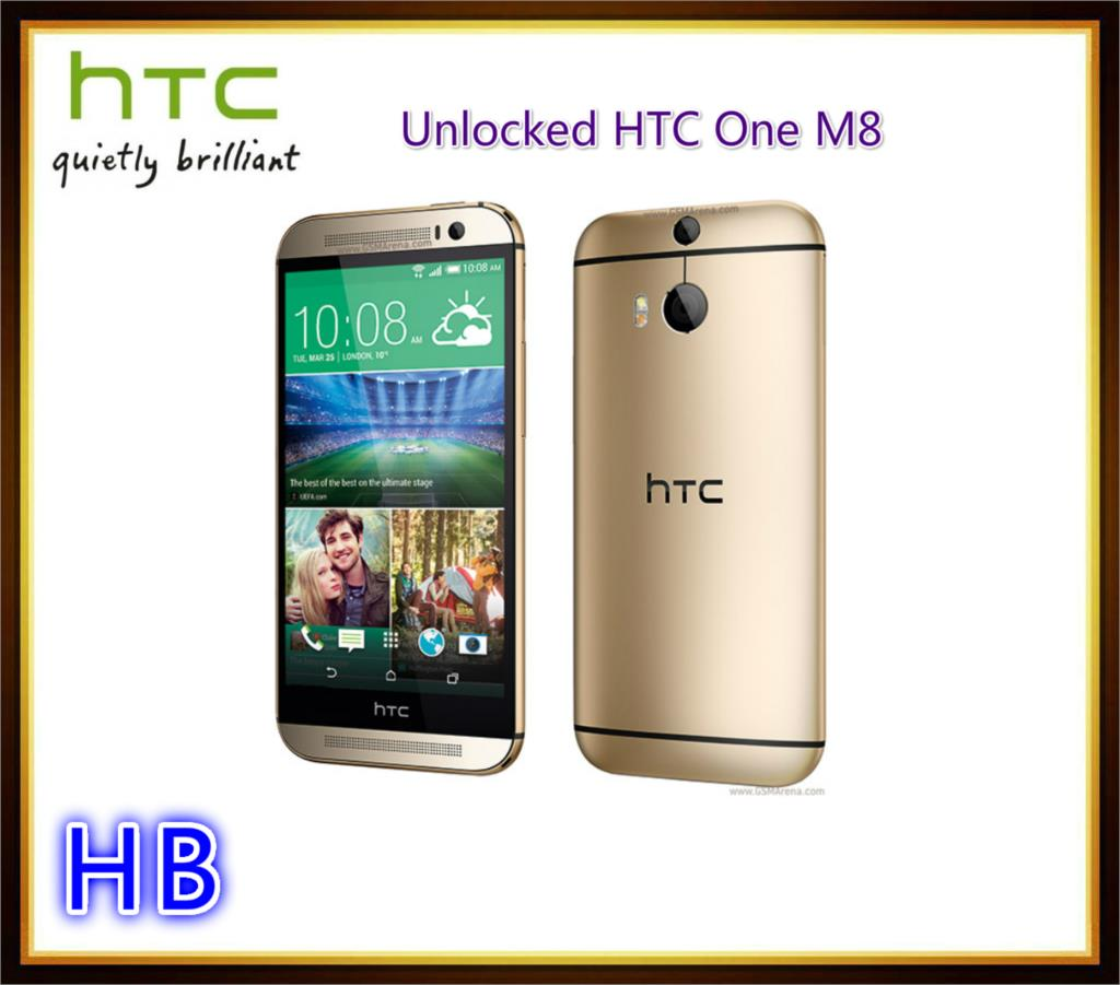 HTC M8 Unlocked Original Smartphone HTC ONE M8 Quad Core 2G RAM 16GB 32GB ROM Android