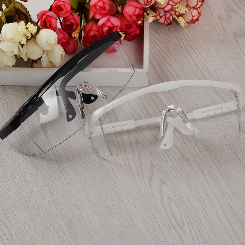 1Pc Anti UV Glasses for UV Gel Nail Art Black/White Big Frame Nail Art Manicure Tool(China (Mainland))