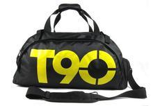 Fashion T90 Waterproof Mulitifunctional Outdoor Nylon men's Black Luggage Travel Bags Travel Duffle Sport Bag(China (Mainland))