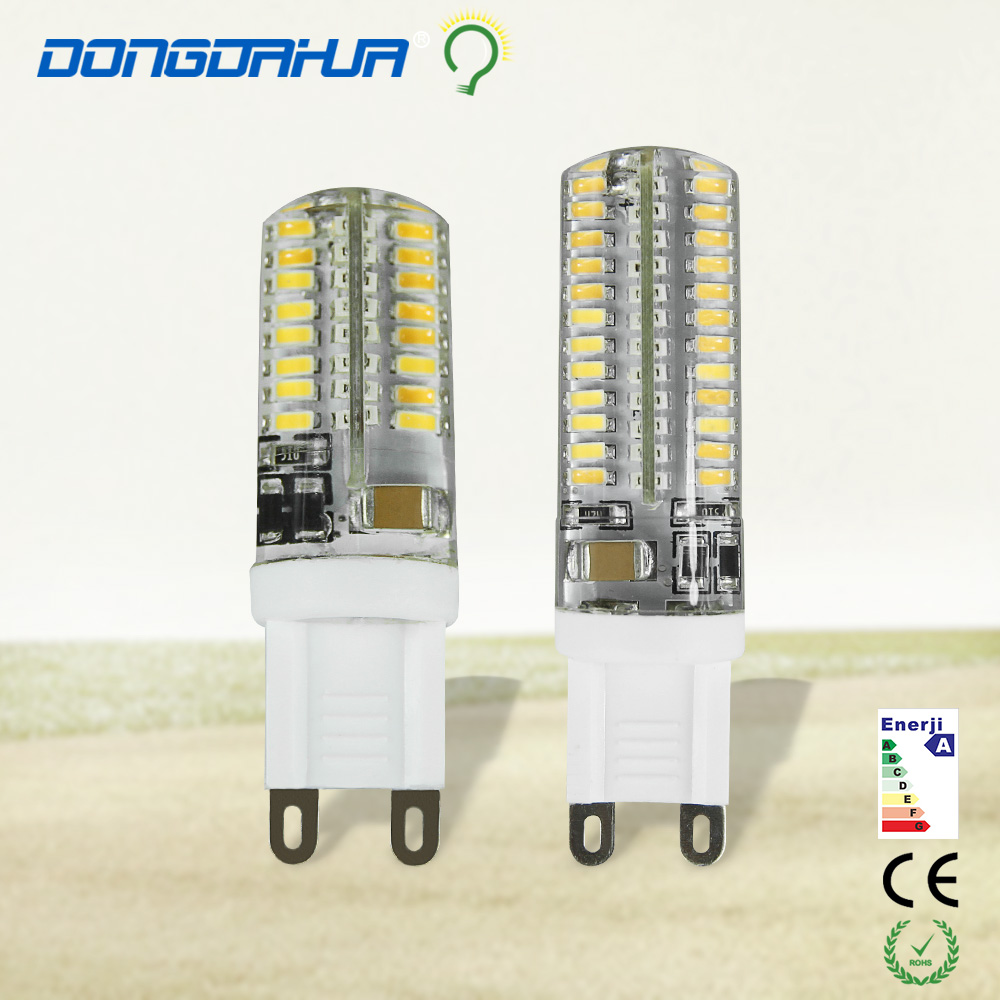 1 pz g9 led bulb 220 v 3 w, 5 w led lamp g9 3014 eec led light beam angle 360 degree led the reflector lamps to replace halogen(China (Mainland))