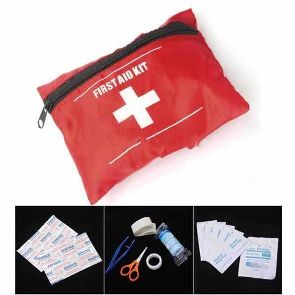 Bartooville Emergency First Aid Kit Bag Pack Travel Sport Survival(China (Mainland))