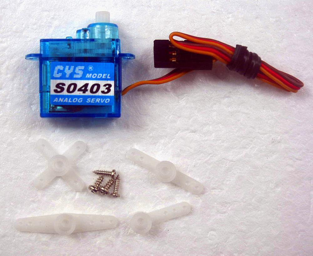 3pcs CYS steering engine boutique 4.3G micro steering engine servo 4.3G steering gear(China (Mainland))