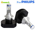 FOR PHILLPS LXZ2 LED CHIP 60W 6000LM Car LED Headlight Headlights Headlamp Kit H4 Hi Lo