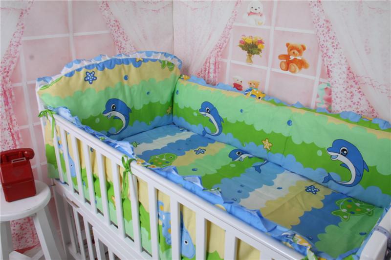 2016 New Newborn Baby Bedding Set,sabanas cuna,High Quality 100% Cotton Children Bedding Set Cot Crib Cradle,Free Shipping<br><br>Aliexpress