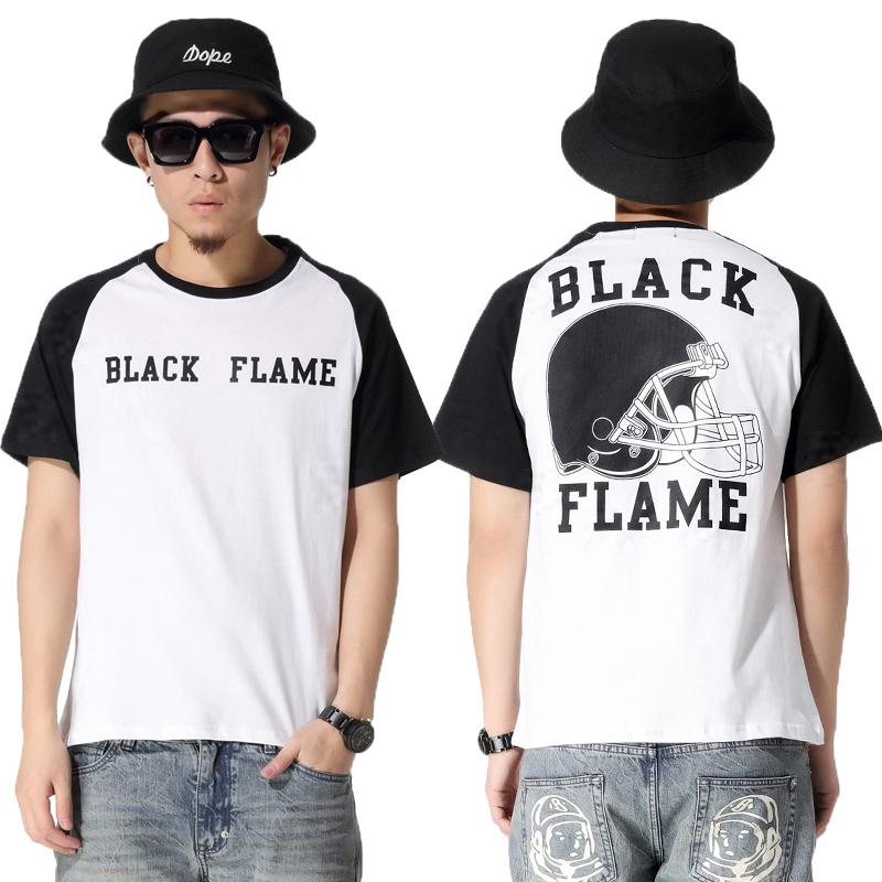 Heybig Brand Summer T Shirts Football Helmet Print,Short Sleeve Cotton Men T-Shirts Casual,Street Hiphop Bboy Fashion Tees Rap(China (Mainland))