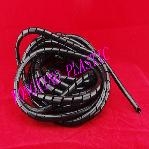 5meter/lot 6mm Flame retardant spiral bands diameter  Cable casing Cable Sleeves Winding pipe<br><br>Aliexpress