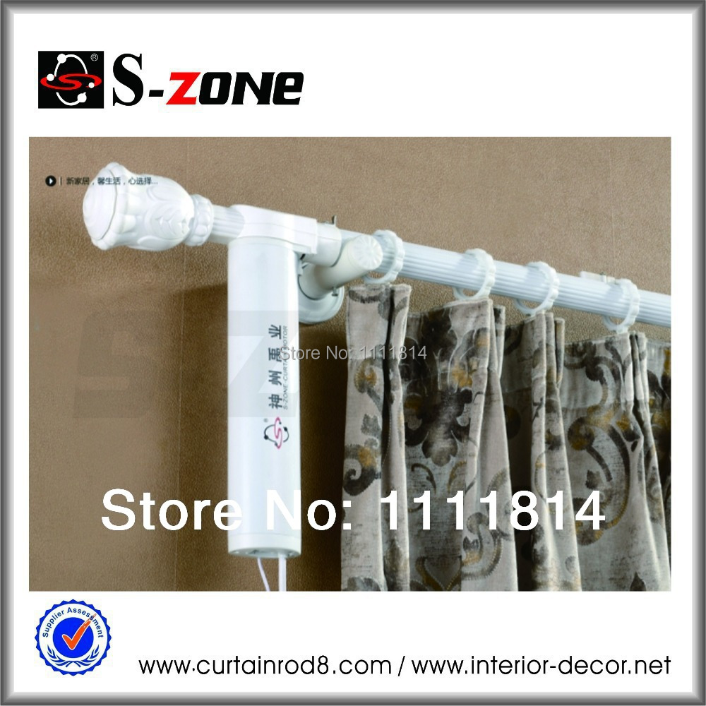 1meter Motorized Curtain Rod System Remote Curtain System