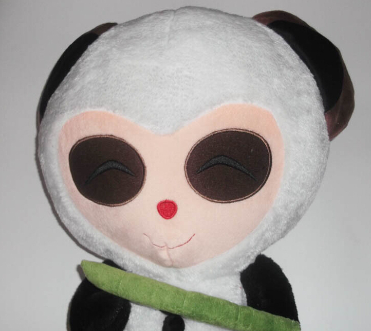 Professional custom, fine plush toy doll League, Timo baby panda doll doll approval.(China (Mainland))
