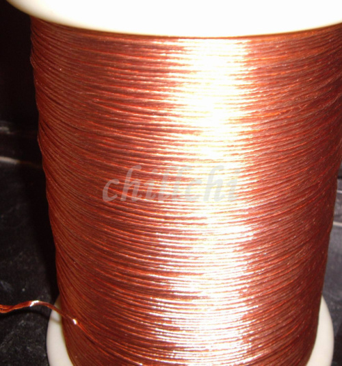 0.13X60 shares beam light strands twisted copper Litz wire Stranded round copper wire sold by the meter(China (Mainland))