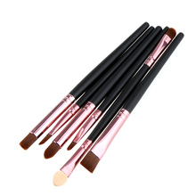 Buy Hot Sell 6 PCS Make makeup Cosmetics Brushes Eyeshadow Eyeliner Nose Smudge Tool Set Kit TN for $1.57 in AliExpress store