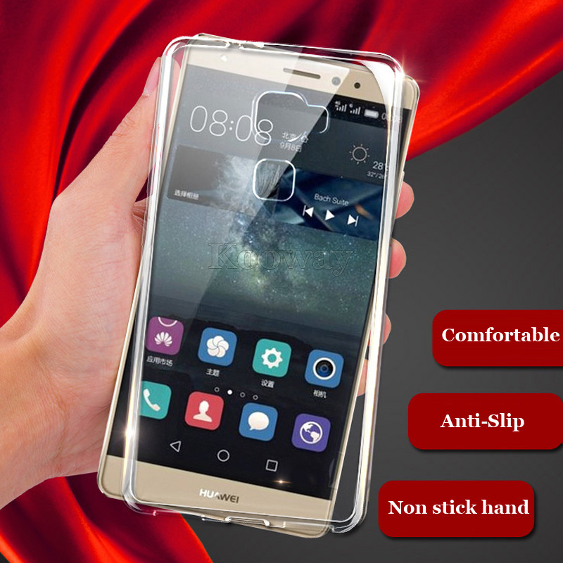 Ultra-Thin Soft Gel TPU Case Huawei G Play Mini Honor 4C C8818 / 7i ShotX P9 P8 Lite G9 Transparent Clear Cover - Kooway Tech Co.,LTD store