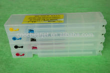 top selling products!!! T6941-T6945 refillable ink cartridge for Epson T3000 T5000 T7000 printer cartridge