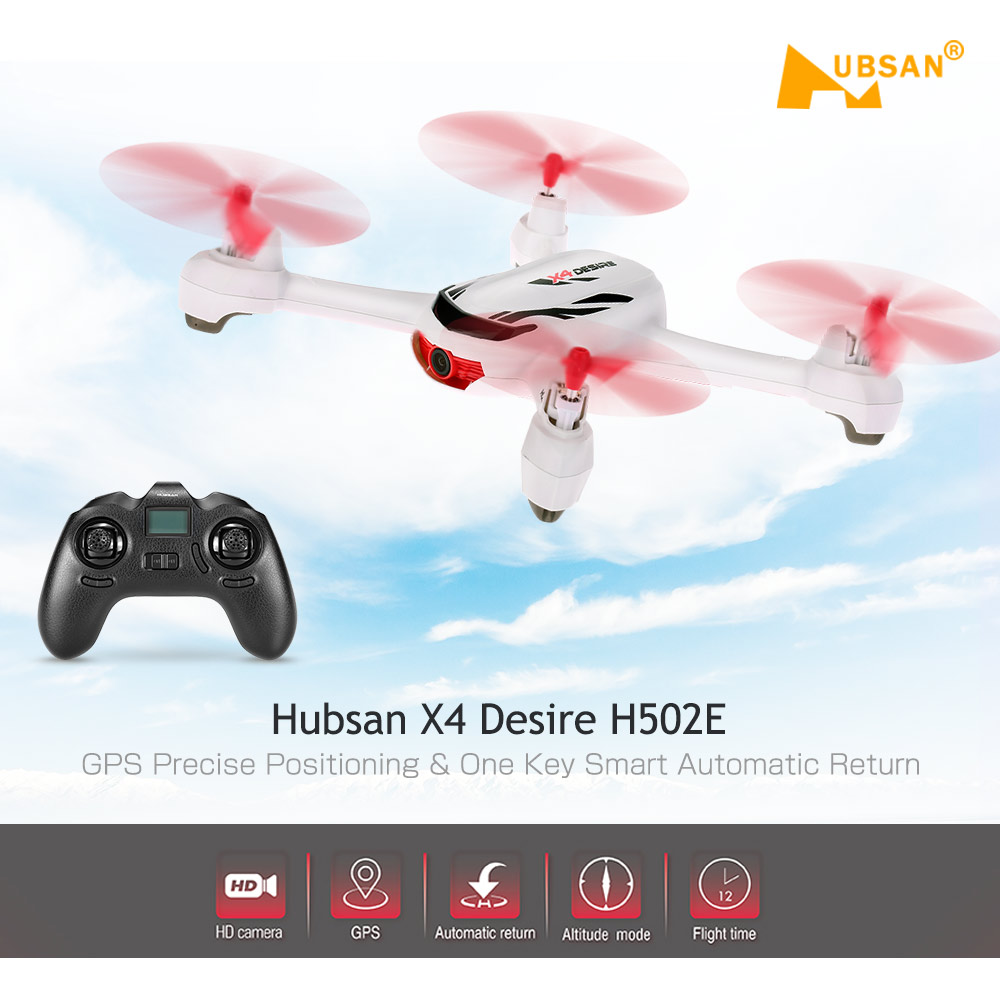 Original Hubsan X4 H502E RC Quadcopter RTF Mini Drone Helicopter with 720P Camera GPS Altitude Mode Return to Home Function(China (Mainland))