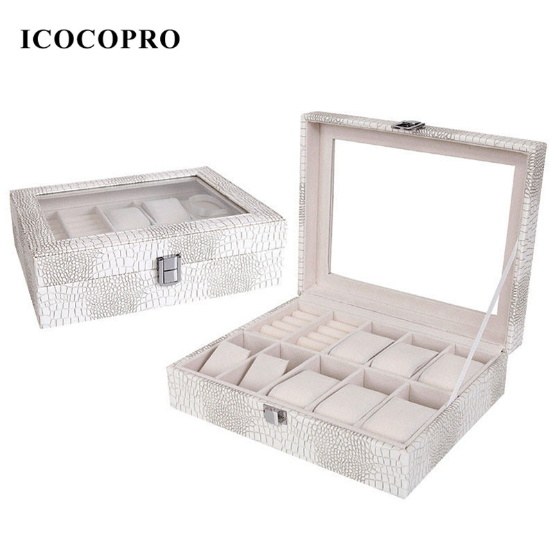 Watch Holder Jewelry Box Travel Ring Display Stand Storage Rack Carring Cases Jewelry Gift Box Packaging Organizer Watch Display(China (Mainland))