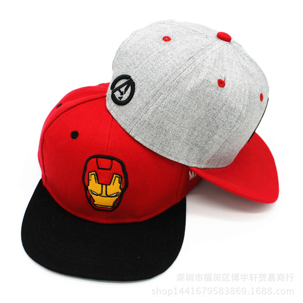 2016 New design baseball cap for summer dress red and grey color embroidery character logo outdoor men and women hip hop hat(China (Mainland))