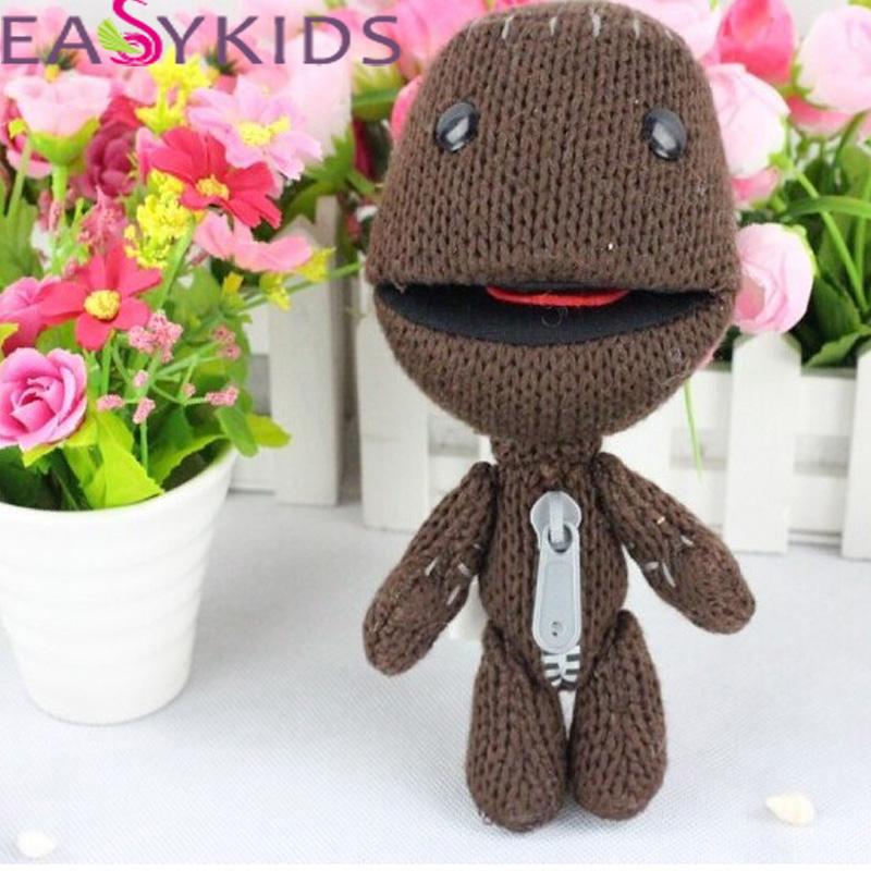 Sackboy Cuddly Knitted Stuffed Doll Little Big Planet Plush Toy Figure Toys Cute Kids Animal Comfort Doll kids gifr(China (Mainland))