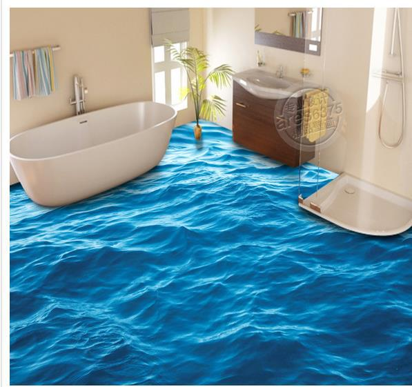 Custom photo floor wallpaper 3d stereoscopic 3d floor for 3d wallpaper for home floor