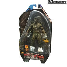 Predadores NECA Água Emergence Predator Selva Disguise/Encontro Dutcch PVC Action Figure Collectible Modelo Toy 18 cm(China)