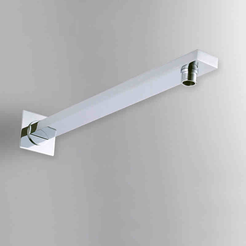 Modern Shower Arms Rainfall Shower Head Faucet Outlet Connection Solid Brass