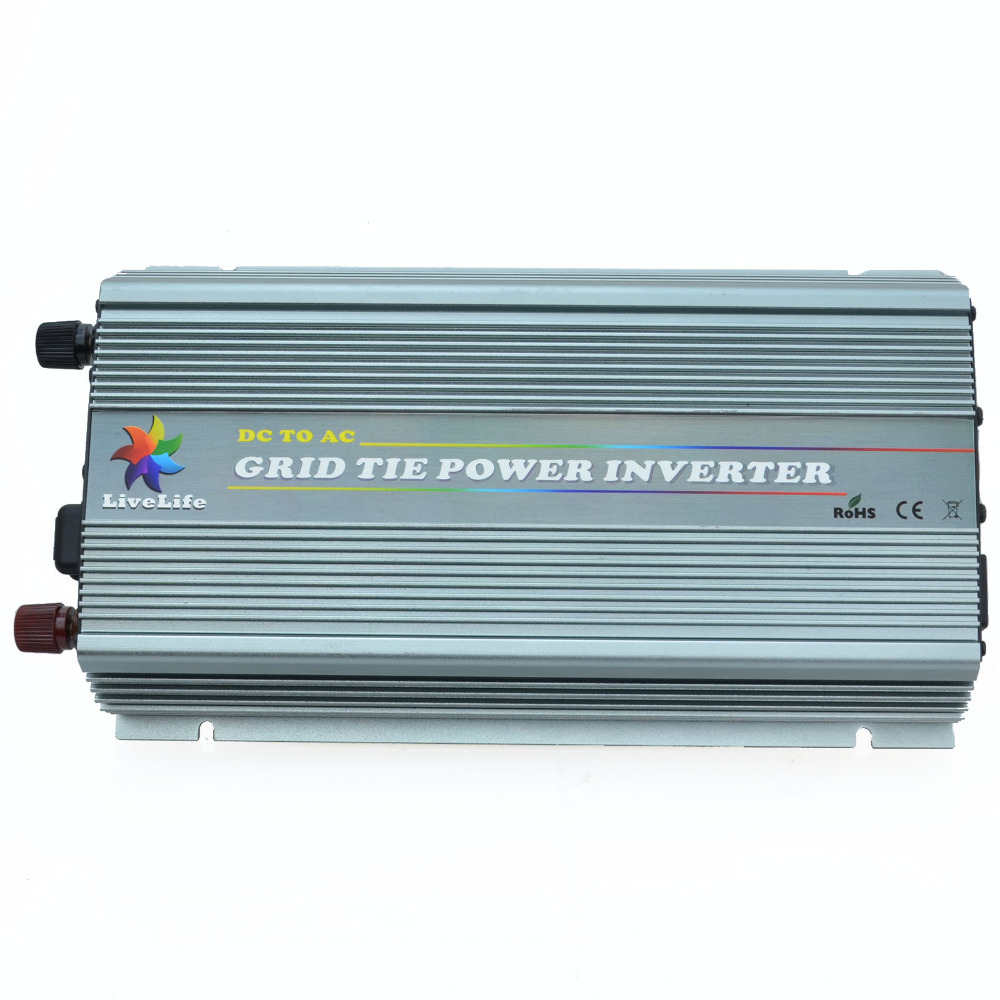 Grid Tie Inverter 1000W DC20V-45V to AC220V Power Inverter With MPPT Functions(Hong Kong)
