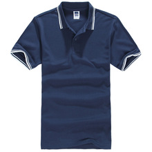 2016 New Brand Men's Polo Shirts For Men Summer Style Polos Cotton Short Sleeve Solid Shirt Sports Jerseys Golf Tennis Blouse