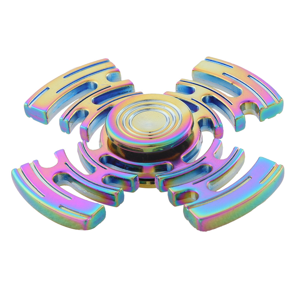 Colorful Fidget Spinner Maze Steel Hand Spinner steel Bearing Educational Toys Spinner Hand Stress Relief Toy