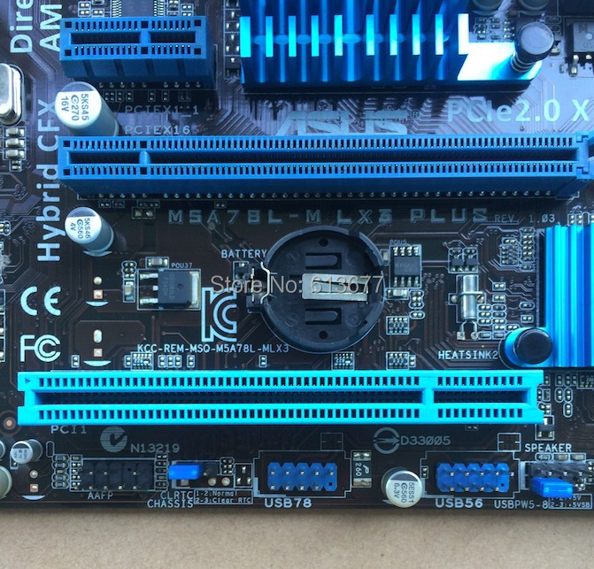 Интернет магазин товары для всей семьи HTB13IkbNpXXXXXbXpXXq6xXFXXXN Оригинальные платы для M5A78L-M LX3 плюс разъем AM3 + DDR3 USB2.0 SATAII 16 ГБ рабочего Материнская плата