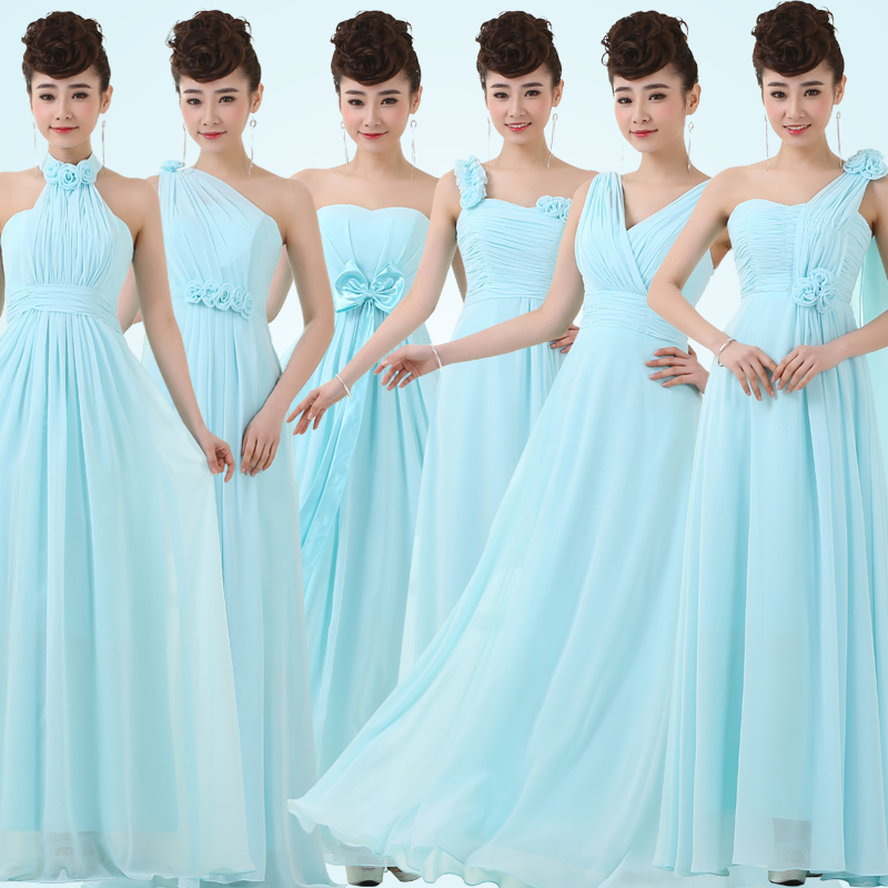 Popular Ice Blue Junior Bridesmaid Dresses-Buy Cheap Ice Blue ...