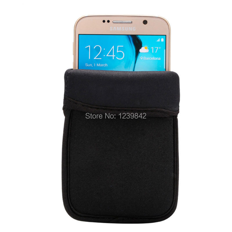 waterproof elastic neoprene case pouch for samsung s5 s6 i9082 bags 5 2 inch cellphone universal
