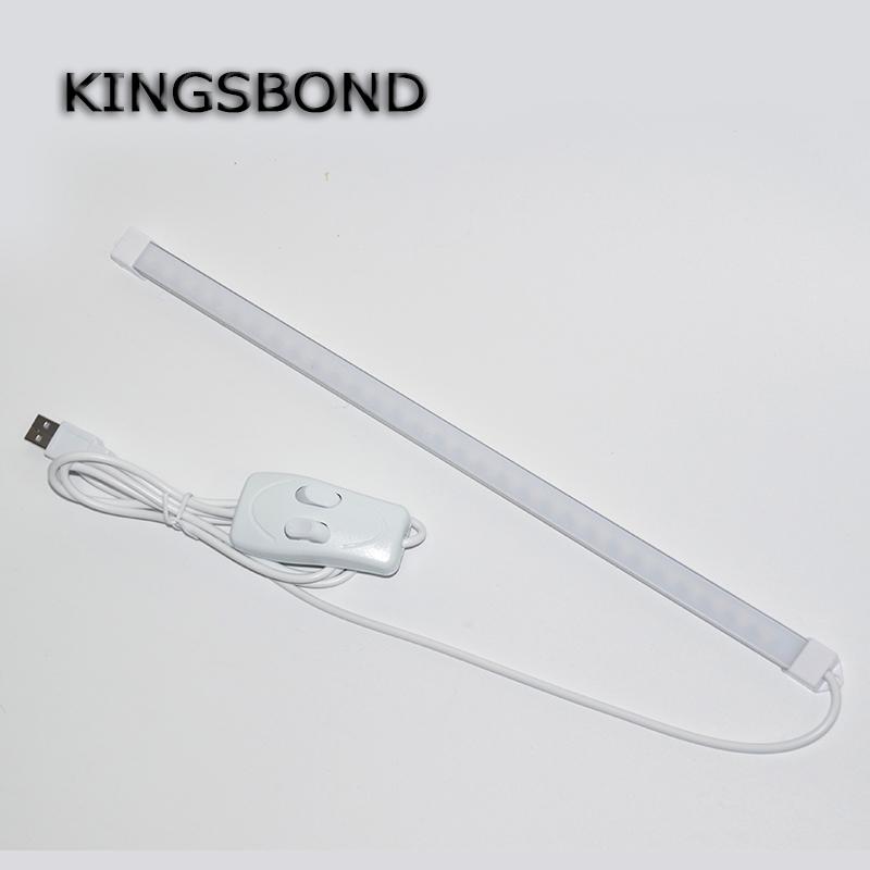 white&amp;warm white USB Switch Adjustable 35CM 7W 24 SMD 5630 LED Rigid Strip Hard Bar Light Tube Lamp DC5V<br><br>Aliexpress