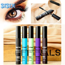 New brand Cheap Eye Mascara Makeup Long Eyelash Silicone Brush Curving Lengthening Colossal 3D Mascara Waterproof