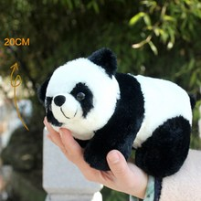 3 Style Cute Plush Doll Toy Stuffed Animal Panda Pillow Quality Bolster Gift  Lovely Panda Pillow for Child Kids Toys VBQ43P50 (China (Mainland))