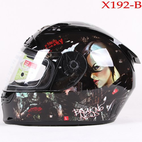 free shopping Tanked racing motorcycle helmet full face helmet with Multiple color choice glass fiber reinforced plastics(China (Mainland))