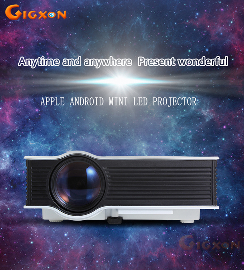 TS-UC40+ Full HD Compatible Home Portable Mini Projector Increase the function of VGA<br><br>Aliexpress