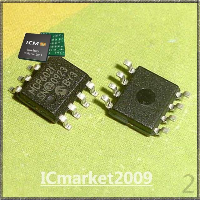 10 PCS MCP602-I/SN SOP-8 MCP602 2.7V to 5.5V Single Supply CMOS Op Amps